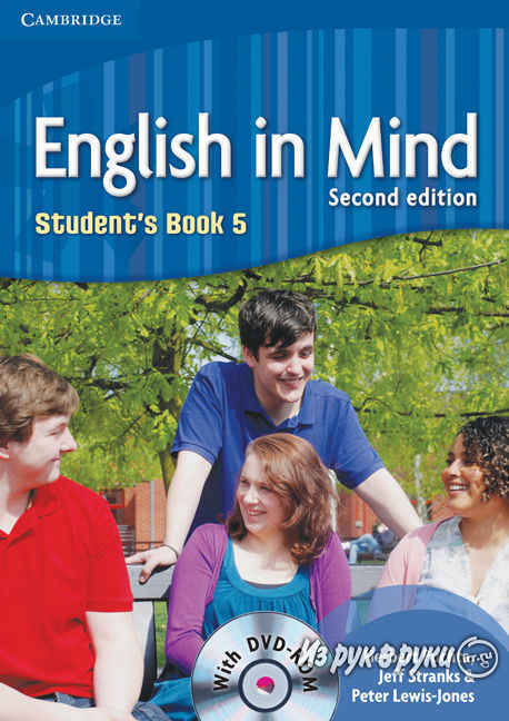 English in Mind Level 5 Students Book with DVD-ROM +Workbook
