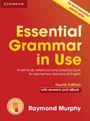 Essential Grammar in Use With answers + CD Fourth Edition