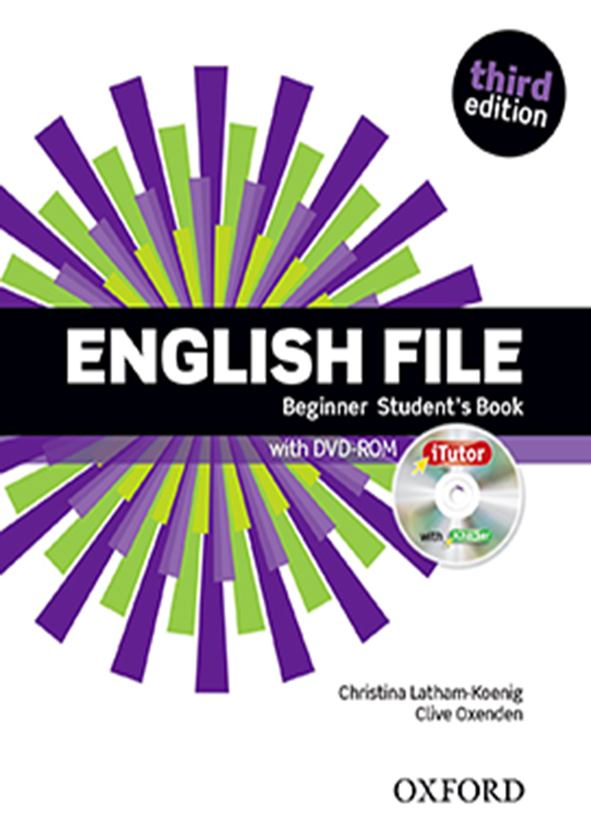 English File Beginner Third Edition Students Book with DVD-ROM  + Workbook with key