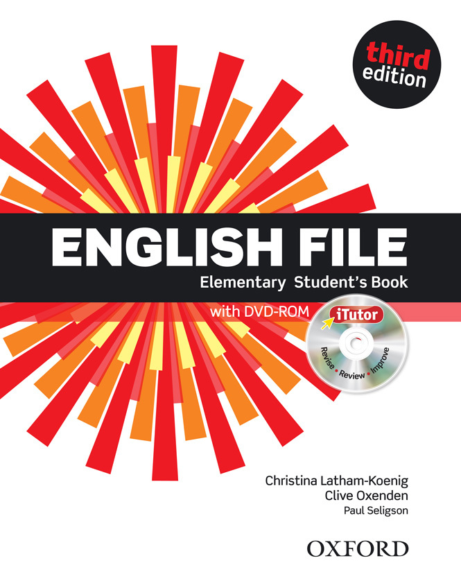 English File Elementary Students Book with DVD-ROM   Workbook with key and CD-ROM