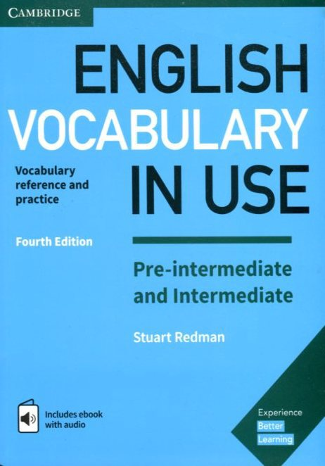 English Vocabulary in Use Pre-intermediate and intermediate. With answers + CD-ROM