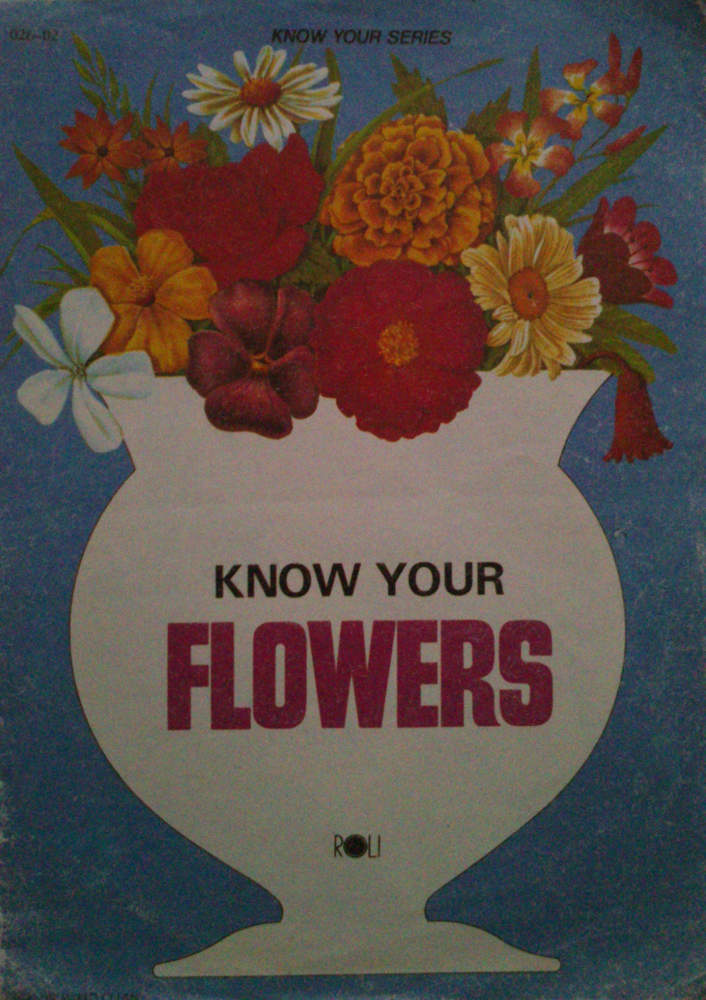 Know your flowers.